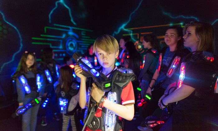 Indoor Laser Tag Party For Kids Miami All Star Party