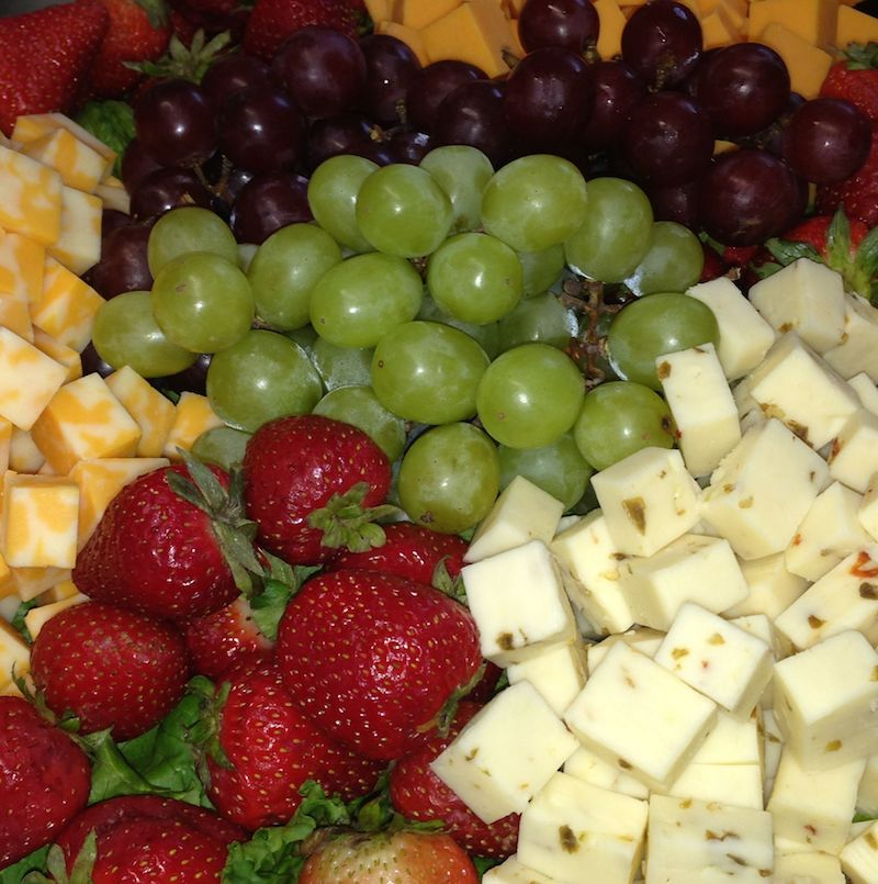 Fresh Fruit Amp Cheese Platter All Star Party World